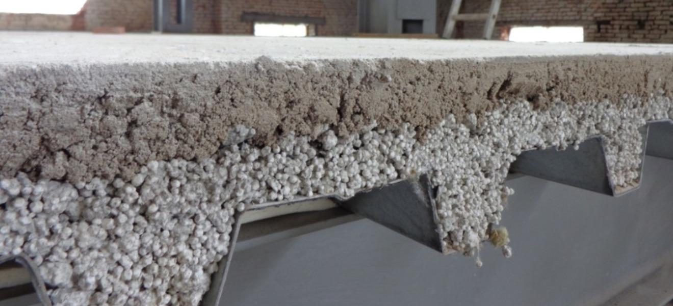 На куб керамзитобетона стекловолокно на бетон
